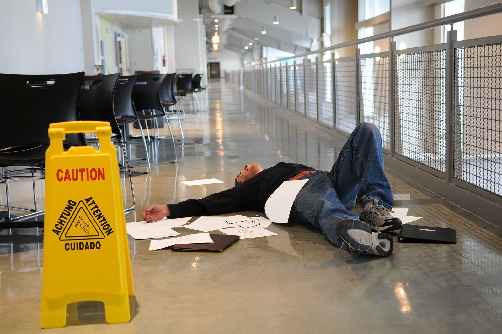 Let a Slip and Fall Lawyer Help You Handle Your Compensation Claims