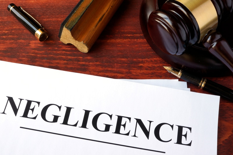 How negligence impacts lawsuits